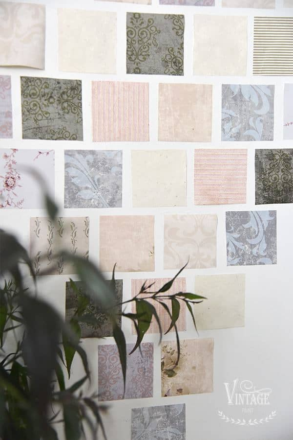 patchwork cuore su parete