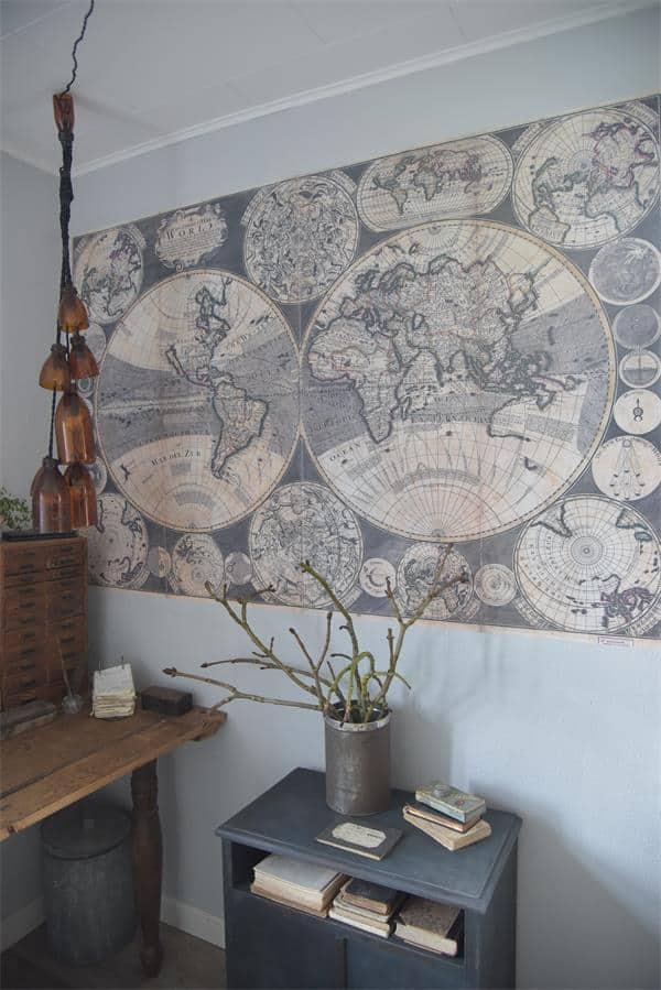 cartina geografica poster per pareti