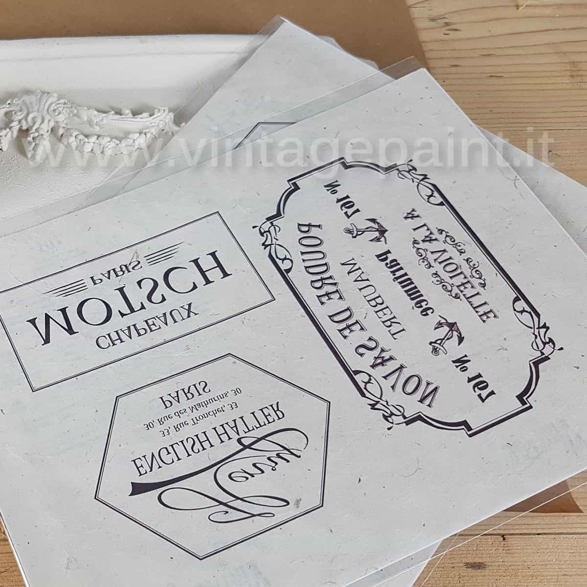 Decorare con le scritte shabby chic della gamma Vintage – VIDEO TUTORIAL