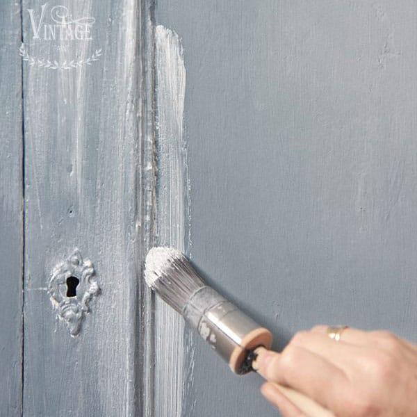 Usare La Cera Bianca Con La Chalk Paint
