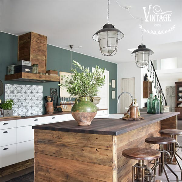 restyling cucina in stile country