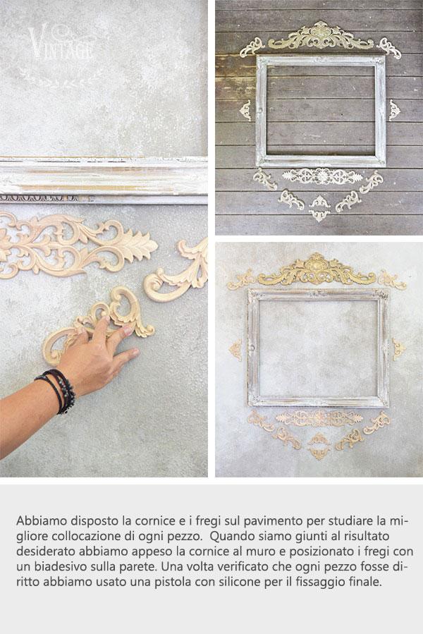 istruzioni per fregi di legno