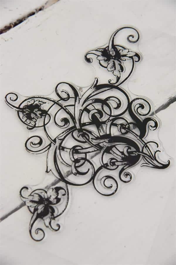 stampo decorativo acrilico