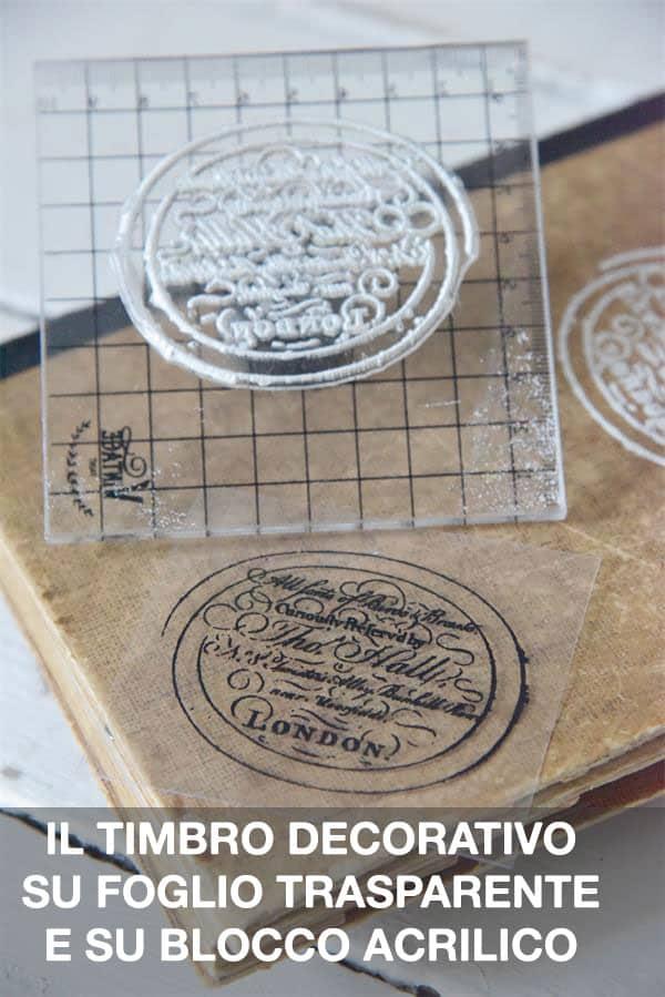 istruzioni stencil in timbro iod