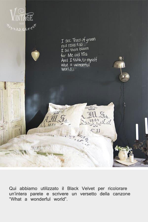 come dipingere una lavagna da parete