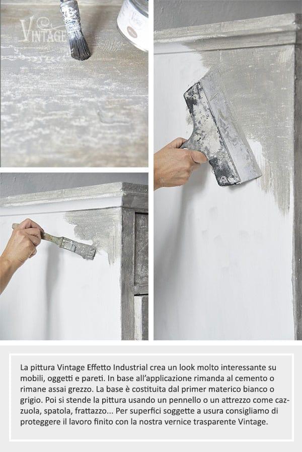 pittura effetto cemento
