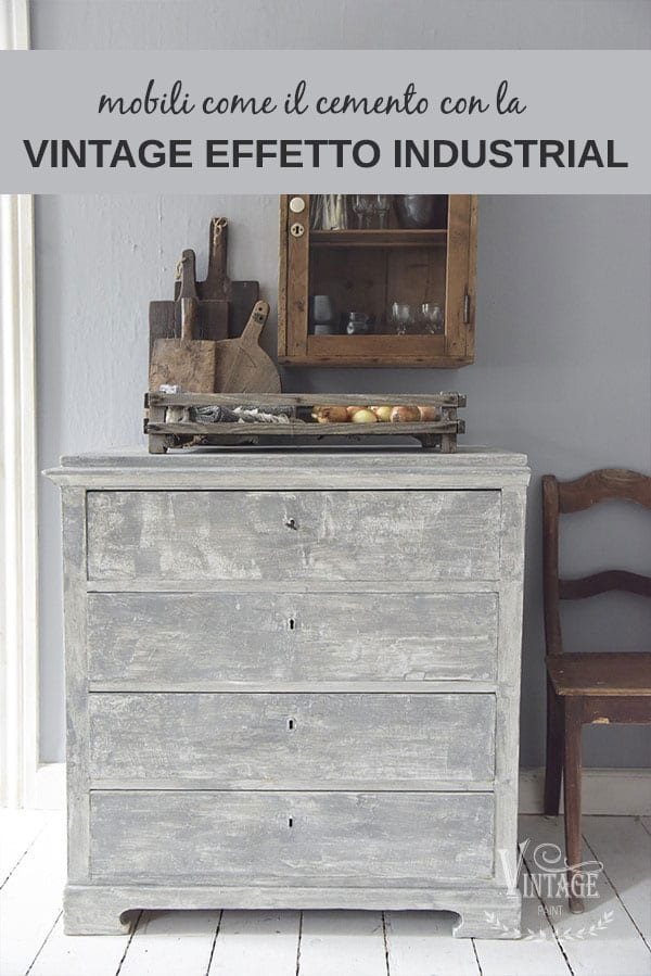 restyling stile industrial di mobili