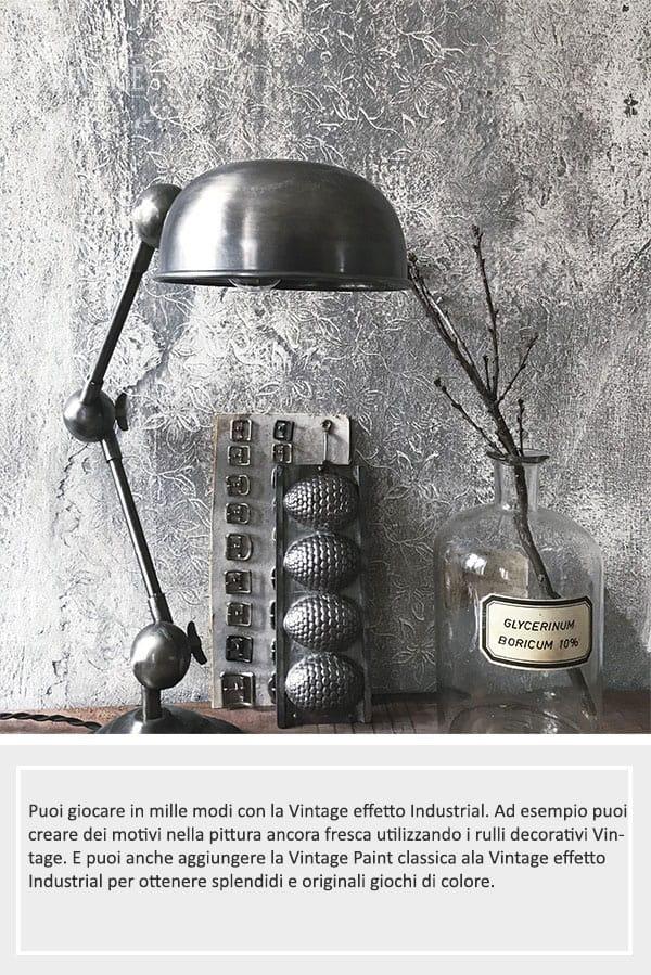 pareti effetto cemento