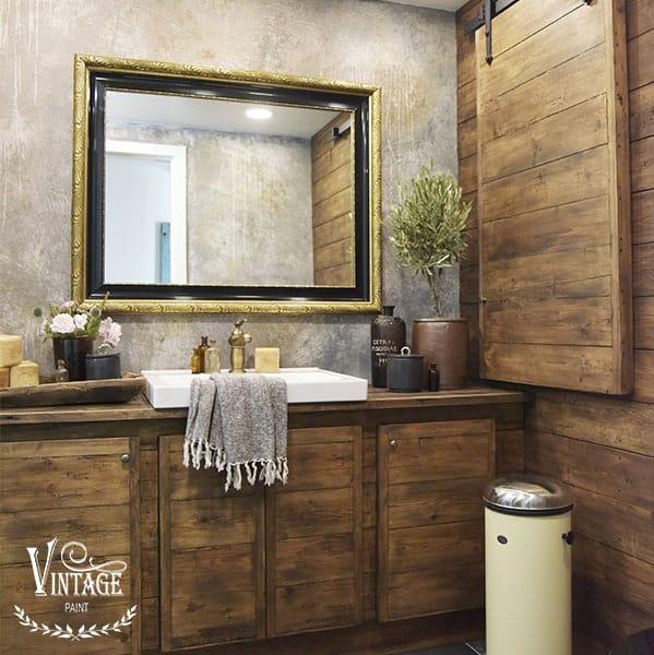 Trasformare un bagno antichizzando il legno con le cere – TUTORIAL