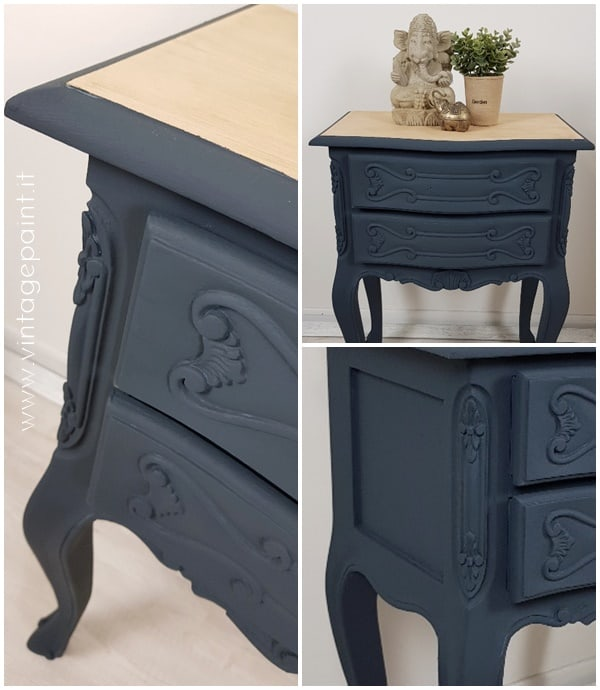 colore blu navy vintage chalk paint