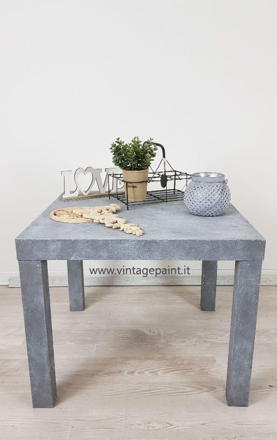 rinnovare con la pittura effetto cemento
