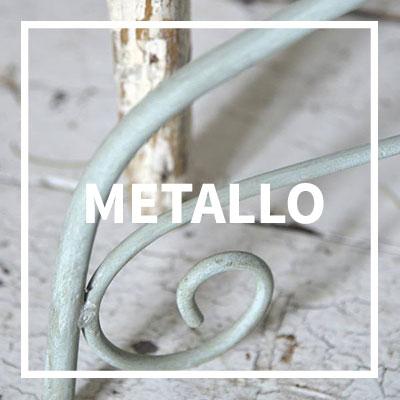 ricolorare il metallo senza primer con la magica vintage chalk paint