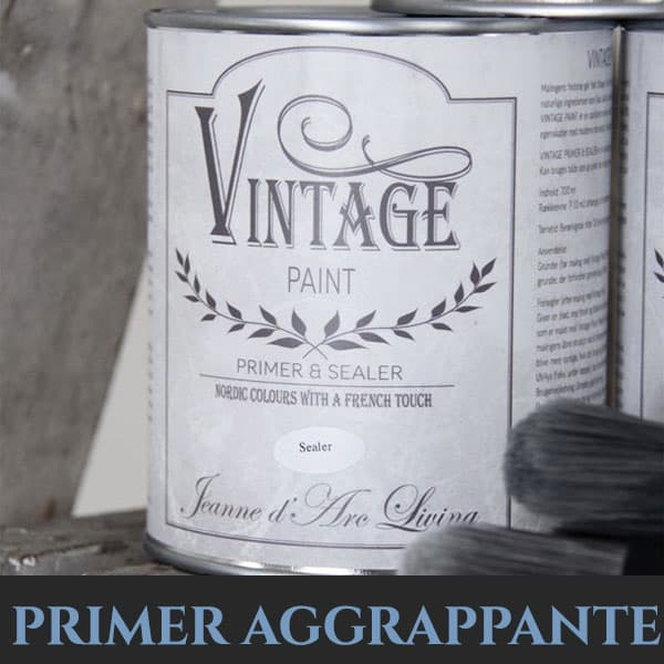 primer aggrappante Vintage per superfici lucide